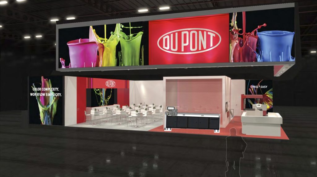 DuPont booth at drupa 2016