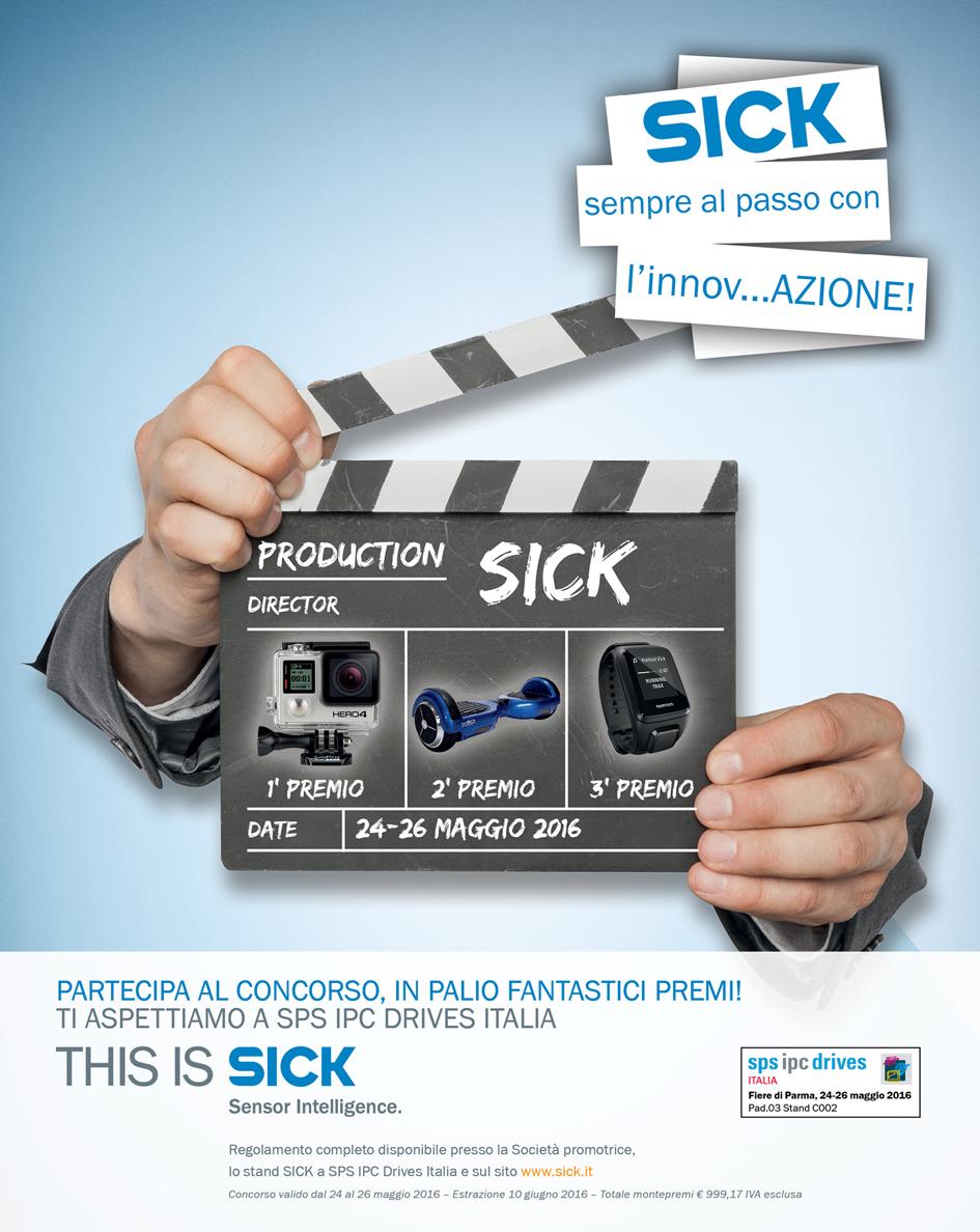 Il concorso di SICK a SPS 2016
