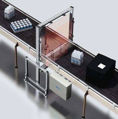 VML di SICK - sistema di identificazione automatica