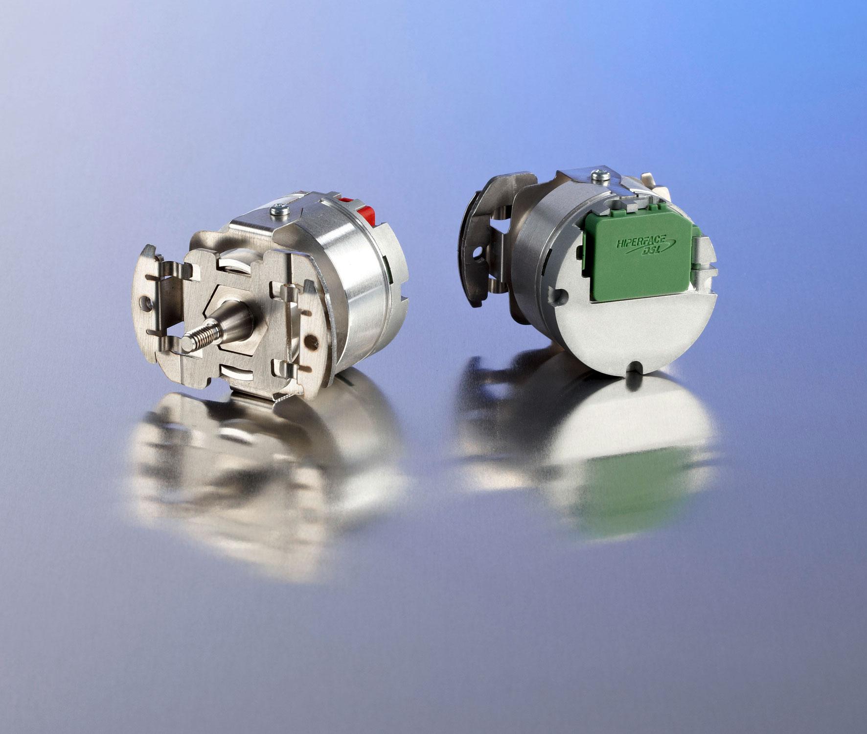 Il motor feedback EKM36 di SICK con con interfaccia HIPERFACE DSL®