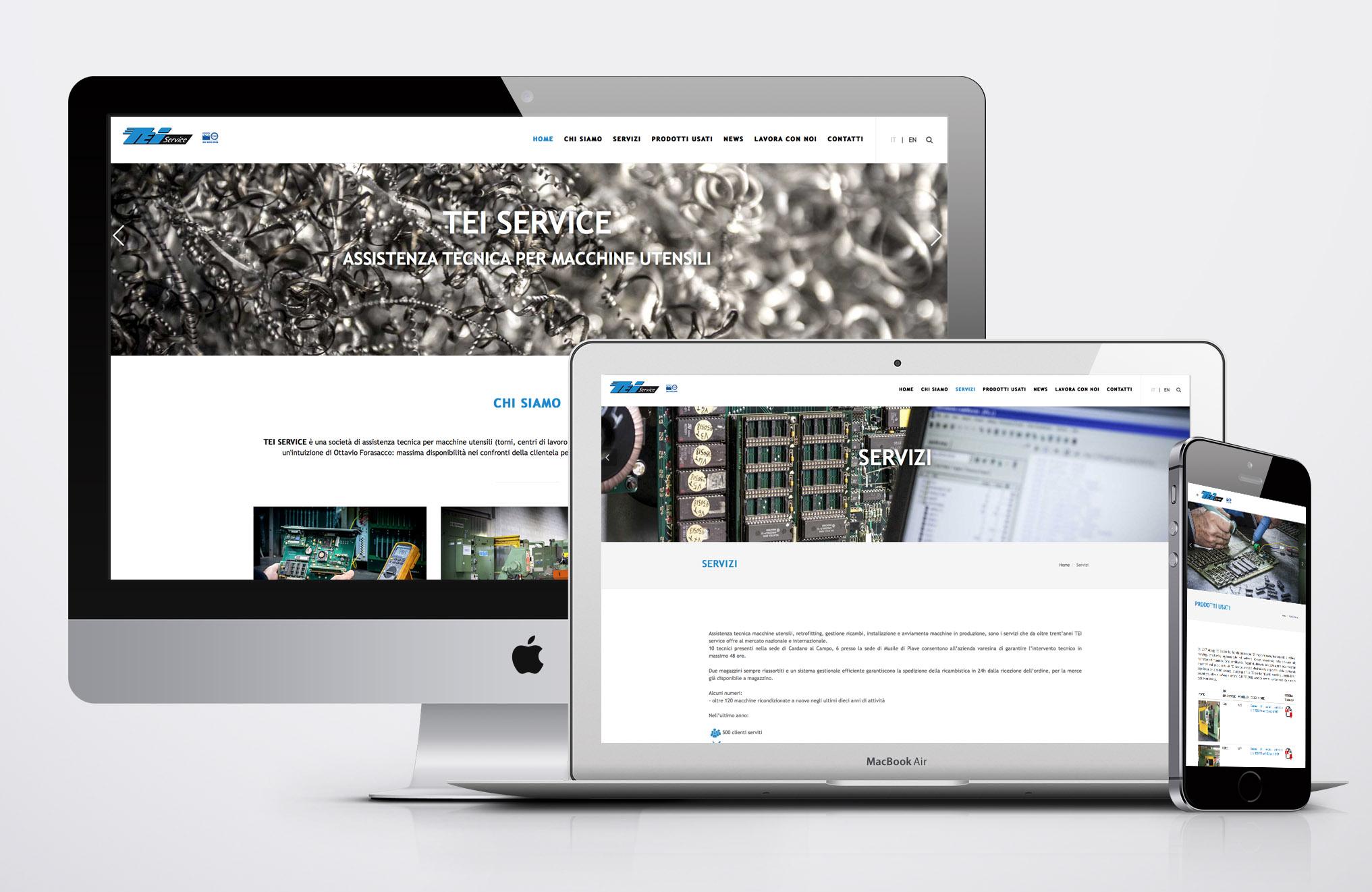 Domino sito web TEI Service