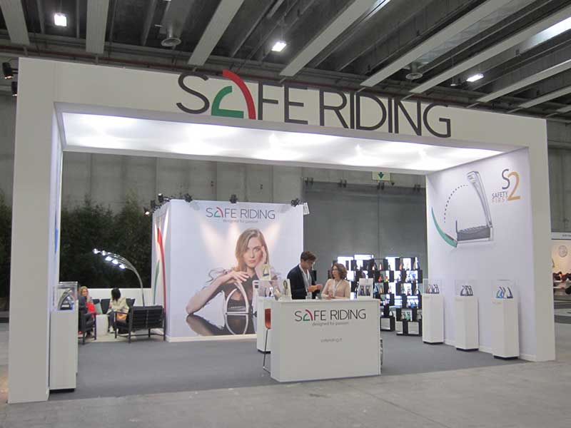 ALLESTIMENTO SAFE RIDING FIERACAVALLI 2018